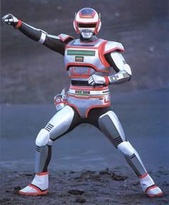 Jaspion - seriado japonês de muito sucesso no Brasil.