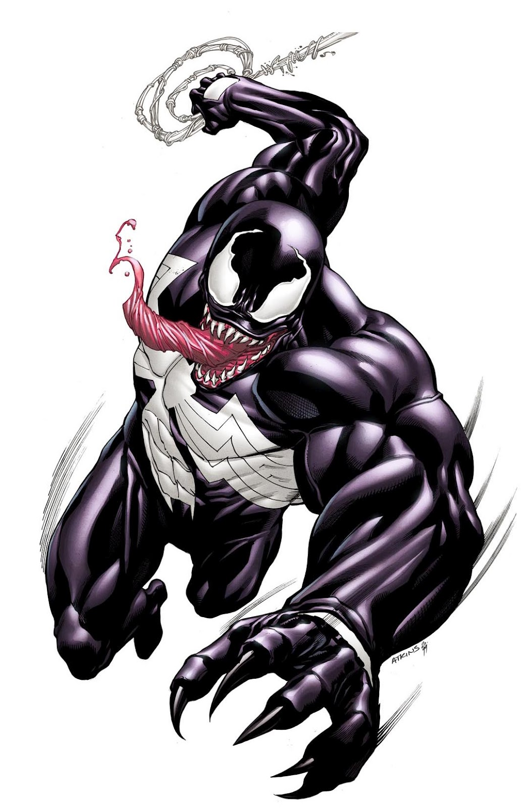 TIL that the concept for the Spider-Man villain, Venom ...