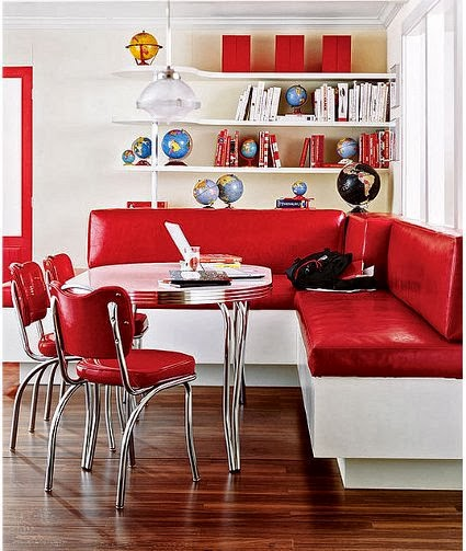 Black Family Diner 3 Piece Corner Dining: Sidewalks In The Corners: A Dining Room In The Kitchen