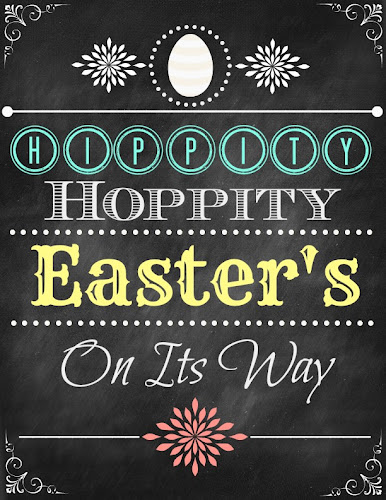 BLISSFUL ROOTS Hippity Hoppity Easter Printable