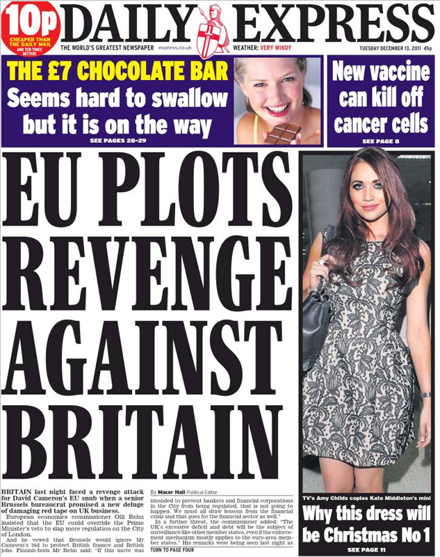 britain people the plashing vole they come over here taking our front pages