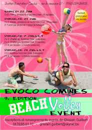 22-23 JUIN BEACH VOLLEY