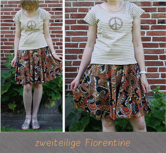 Tellerrockkleid Florentine von Allerlieblichst