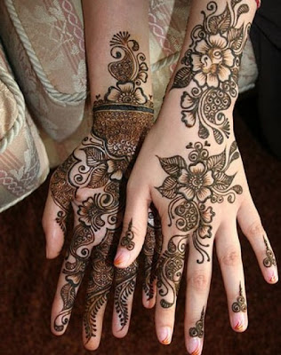 Beautiful Eid Mehndi Collections For Girls