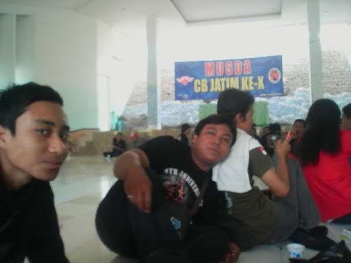 HCNC datang di acara MUSDA CB JATIM KE-X 19 februari 2012