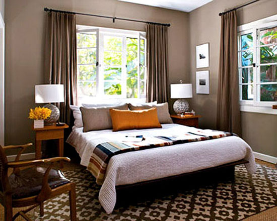 Creative Juices Decor Ideas For A Warm Romantic Master Bedroom Add Drapes: master bedroom art above bed