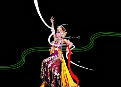Bali Dancer : Edit Foto Dengan Photoshop