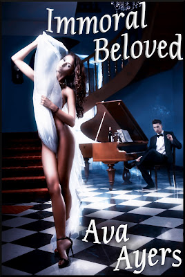 Ava Ayers Immoral Beloved Erotic Fantasy Novel Cover