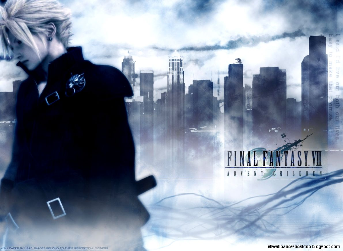 final fantasy vii advent children wallpaper | all wallpapers desktop