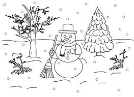 winter solstice coloring pages - coloring pages winter free printable coloring pages
