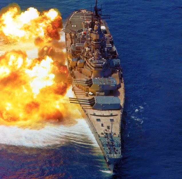 Este fue el buque de guerra más poderoso de la marina de EE.UU.