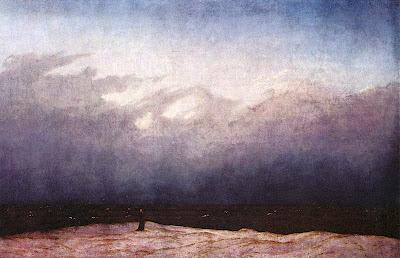 Caspar David Friederich, Moine au bord de la mer