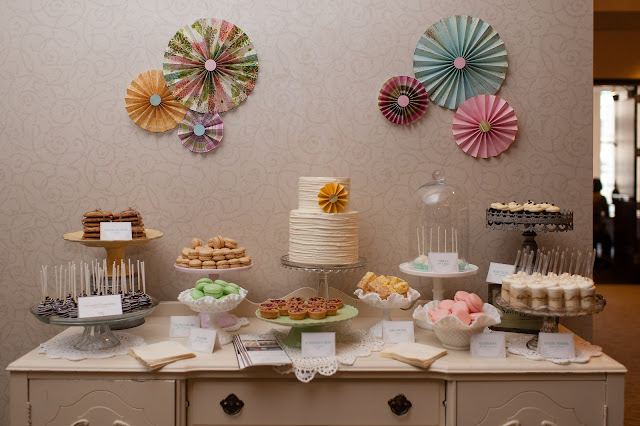 Rustic Mini Dessert Table