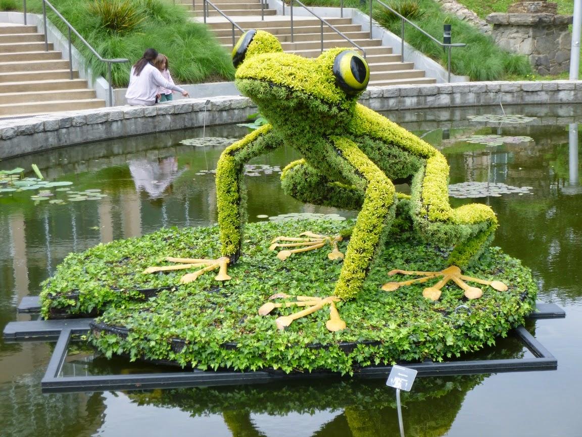Frog @ Atlanta Botanical Garden, Imaginary Worlds exhibit