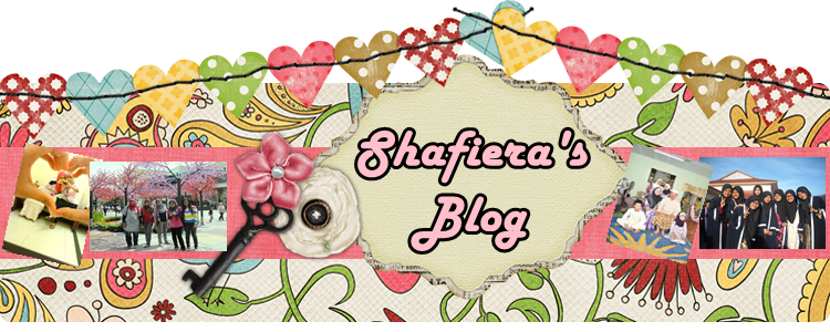 Shafiera's Blog