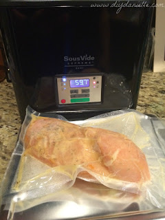 Sous vide chicken before.
