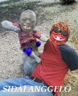 berkelahi dengan anak kecil