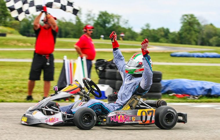Tazio wins National WKA Man Cup Race in Pittsburgh 2013