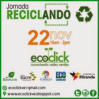 Jornada de Reciclaje 22/11 Caracas