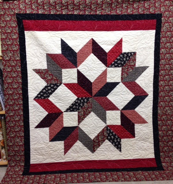 Whittle Girl Blogs Carpenters Star By Calico Carriage Quilt Designs
