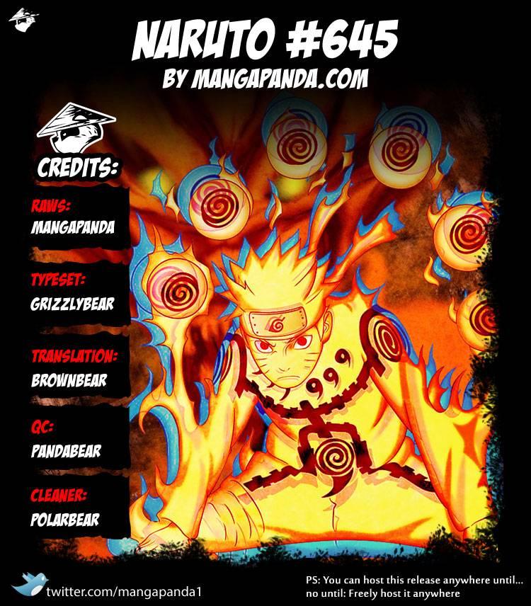 Naruto - Chapter 645 - Pic 16
