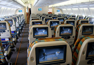 Oman Air's Economy Class Cabin is rated as one of the world's best
