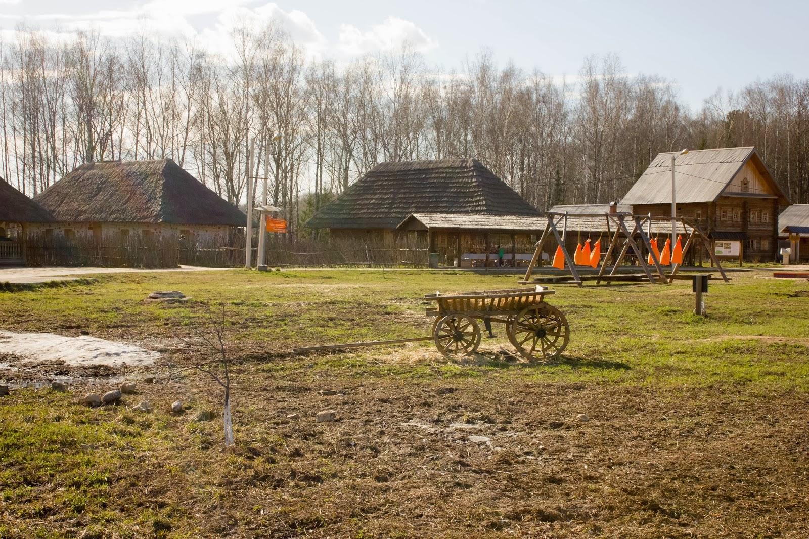 Калуга, Калужская область, Этномир, Украинский хутор