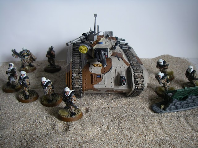 What's On Your Table- Tallarn Mechanized Recon
