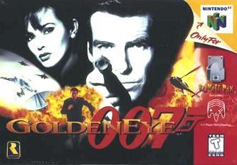 Box art for Nintendo 64 game GoldenEye 007