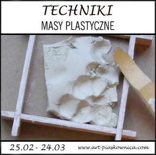 Techniki: masy plastyczne