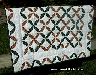 quilt from book 3 of the quilt ladies book collection