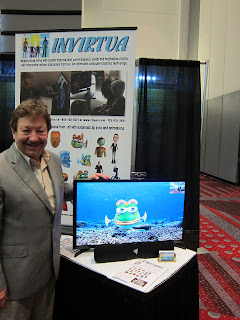 photo of gary jesch, owner of invirtua at teh autism society national conference in denver
