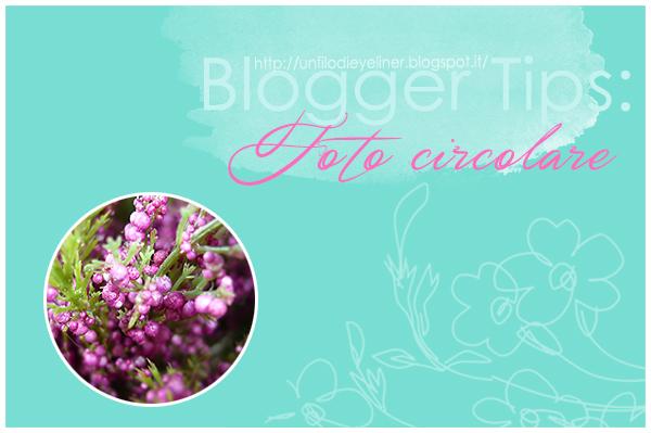 Immagine del profilo circolare ~ Blogger Tips