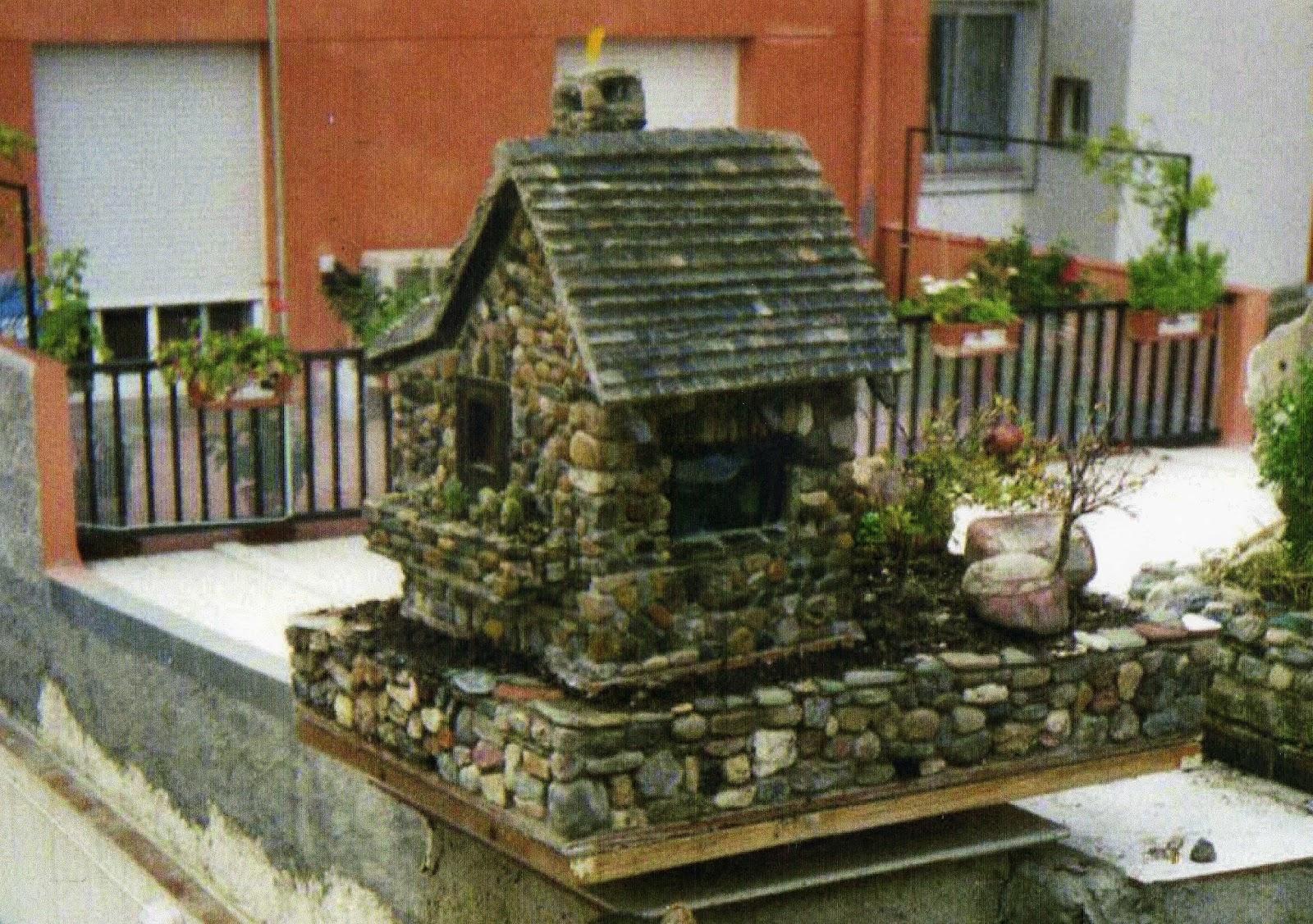 Casas de piedra en miniatura ideas de jardineria - Jardineria en casa ...