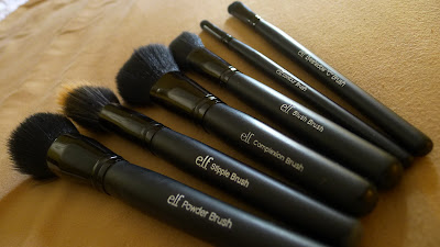 ELF Studio brush set
