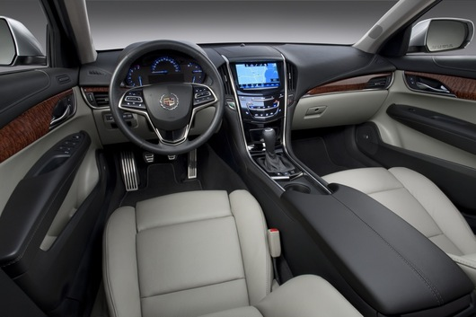 2013 Cadillac ATS interior