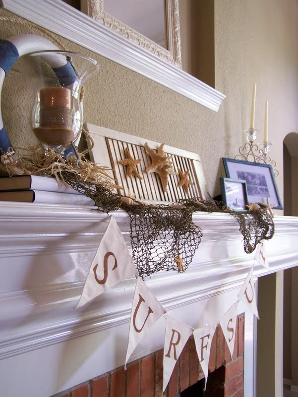Beachy Mantle
