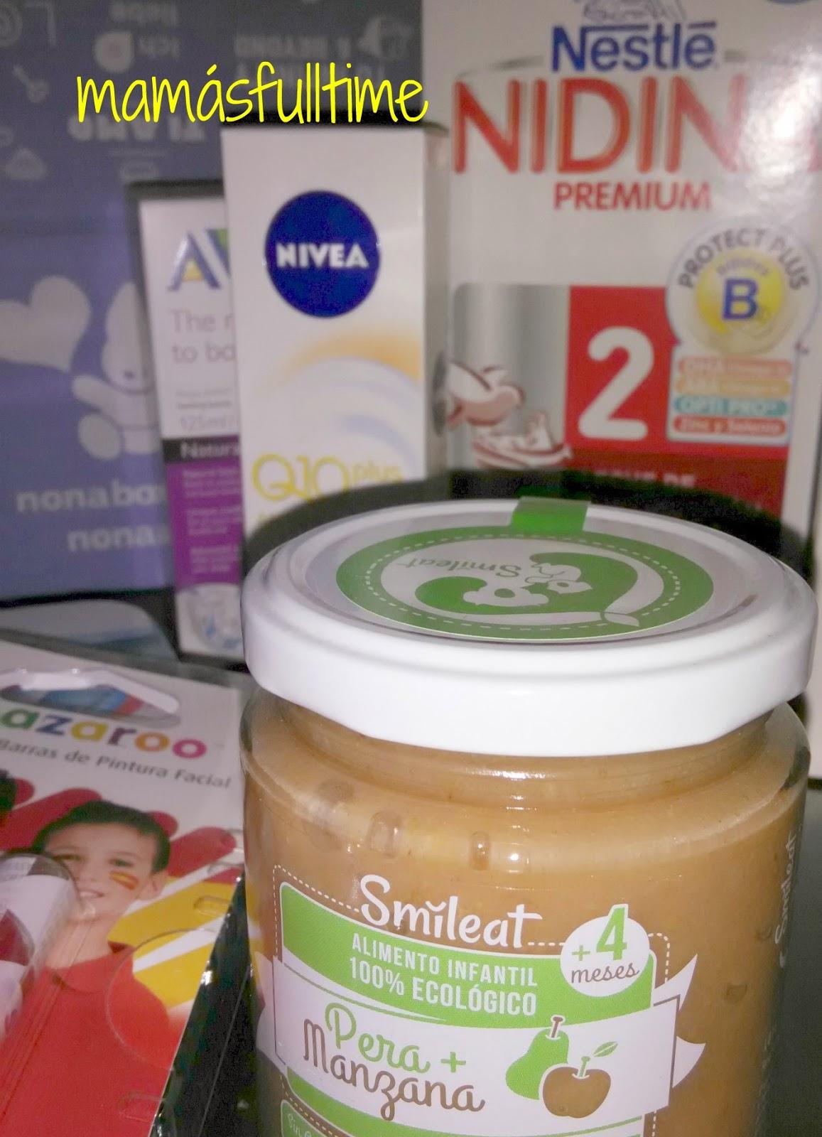Cajas productos prueba bebés nonabox