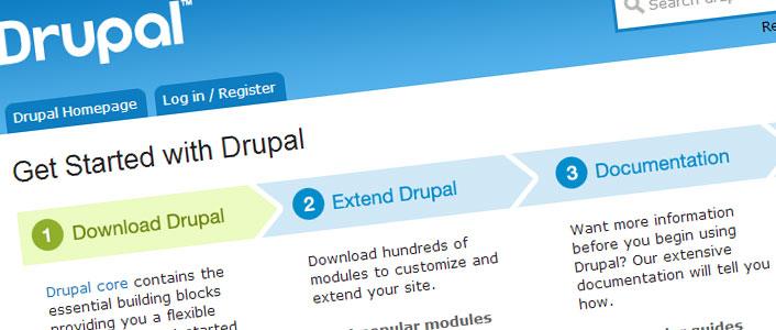 Drupal's features