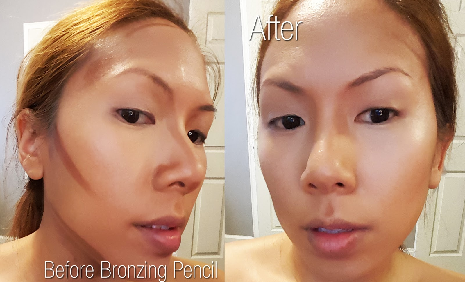 When I Blend It Out With Either A Beauty Blender Or Synthetic Bronzer Brush  My Skin Is Left With A Luminous Bronze Contour