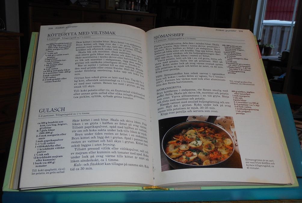 kokbok med enkla recept