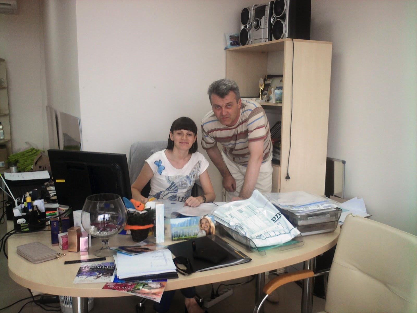 Наталья Дмитриева и Руслан Соловьев