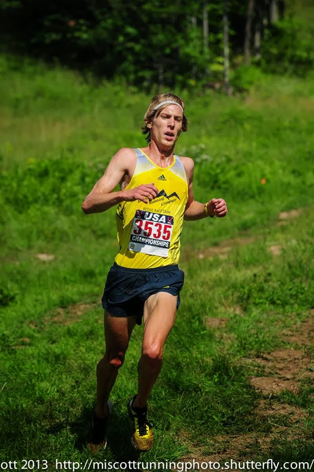Andy Wacker USA Mountain Running Champs