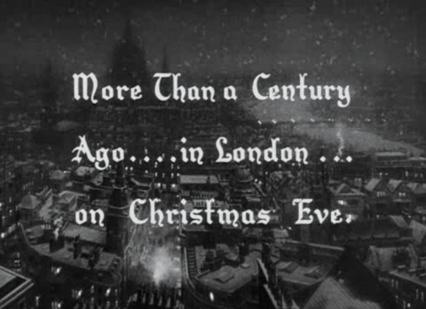 holiday film reviews a christmas carol 1938 - A Christmas Carol Movie 1938