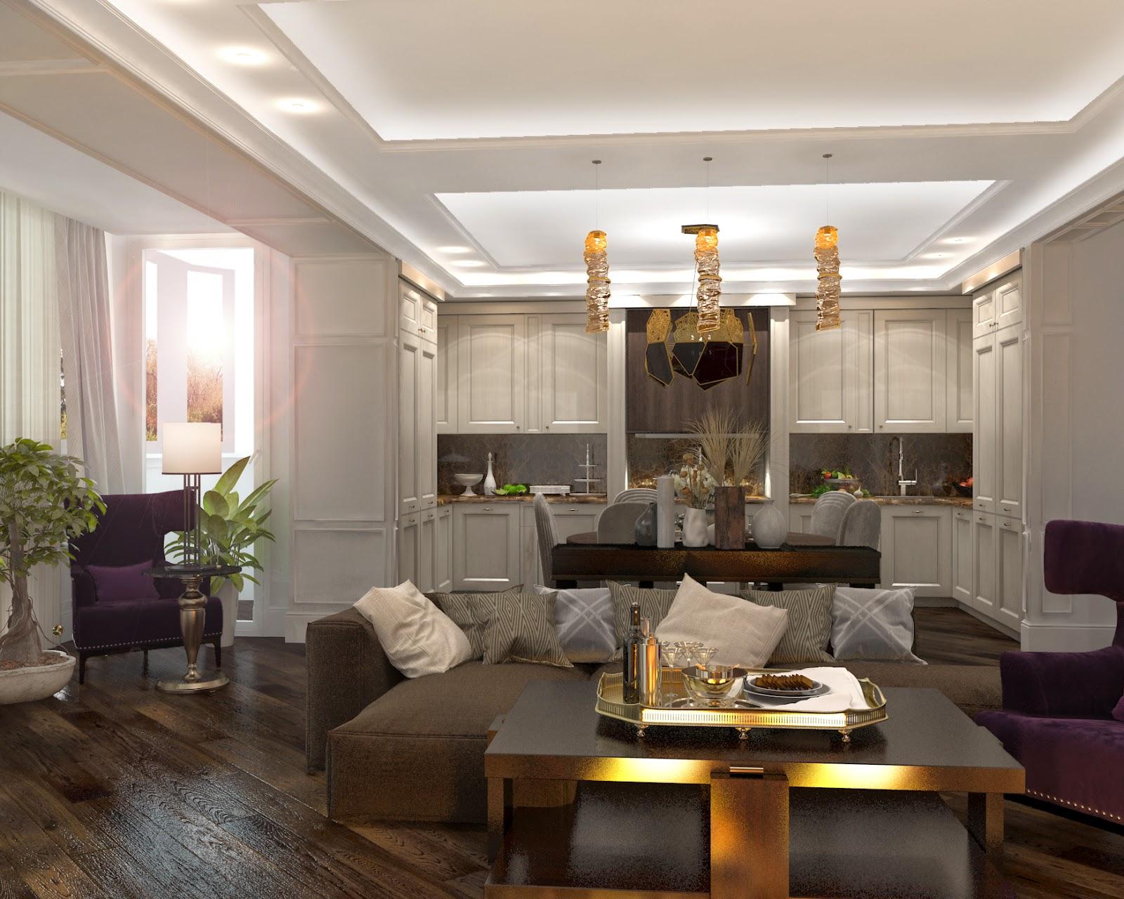 Darya girina interior design march 2015 - Bedroom Darya Girina