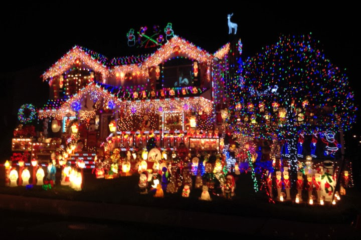 The Lynch Family in Queens Has Over 300,000 Christmas Lights