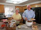 Elder and Sister Wels fed us lunch