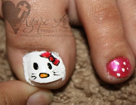 Agape love designs hello kitty toe nail art tutorial saturday agape love designs hello kitty toe nail art tutorial saturday show offs 9 prinsesfo Gallery