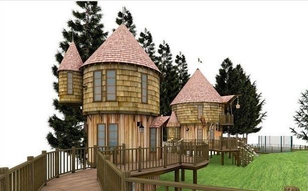 Harry Potter's Tree Houses