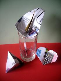 Pauvre Art- origami decor din hartie reciclabila